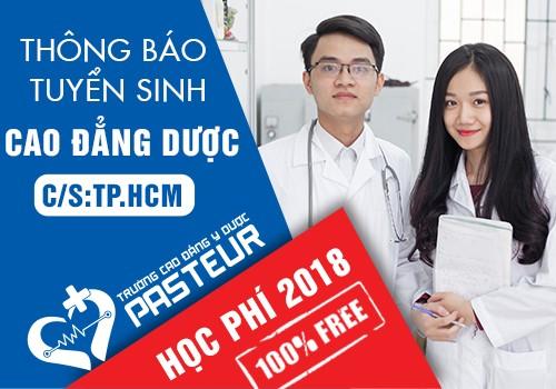 Thông báo tuyển sinh Cao đẳng Dược TP.HCM năm 2018