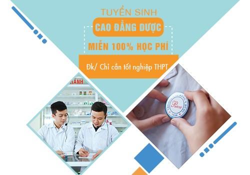 Điều kiện tuyển sinh Cao đẳng Dược Pasteur TP.HCM năm 2018