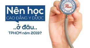 Địa chỉ học Cao đẳng Dược tại TPHCM năm 2019 ở đâu chất lượng