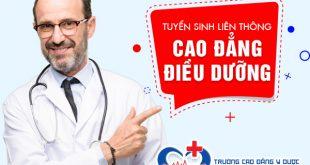 Tuyển sinh Liên thông Cao đẳng Điều dưỡng TPHCM năm 2019